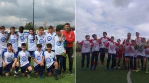 L'Infantil B i el Benjamí B del Futbol Base es proclamen campions