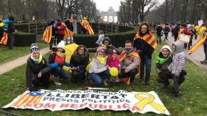 Un centenar d'escalencs a Brussel·les