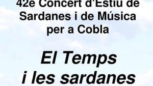 Concert de sardanes al CER