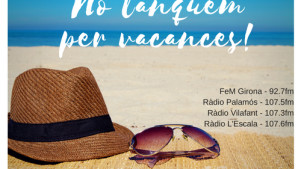 No tanquem per vacances! 31/08/17 (II)