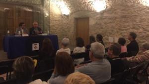 Conferència sobre els 40 anys de la tornada de Tarradellas