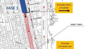 Dilluns comencen les obres de millora del carrer Codolar