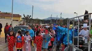Les escoles de l'Escala celebren el Carnaval