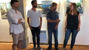 Acaba l'exposició de l'artista de la Beca de Primavera del 2017