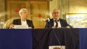 Ferran Mascarell omple l'Alfolí de la Sal en la clausura dels Debats