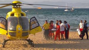 Un home pateix una aturada cardiorespiratòria a la platja de Riells