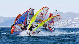 Poc vent pel windsurf, suficient pel foil al mundial de la PWA