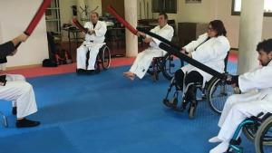 El CER ofereix classes pioneres de jujitsu adaptat