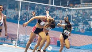 L'atleta Aitana Radsma bat tots els rècords en el campionat de Catalunya