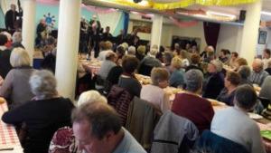 El dinar del dia de la dona a debat a  l'assemblea del casal del Jubilat
