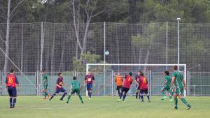 Partit amistós entre el FC l'Escala i el Palamós