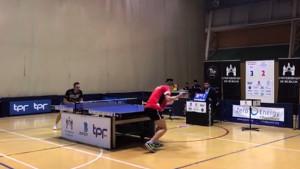 El CER l'Escala de tennis taula surt del descens a Burgos (3-3)