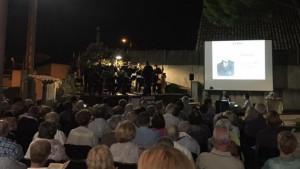 Molt de públic al 41è Concert d'Estiu de Sardanes i de Música per a Cobla