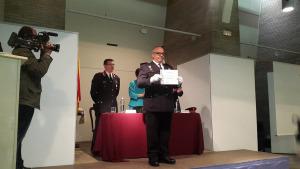 Reconeixement al Policia Local Toni Bueno