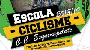 El club Esquenapelats vol crear una escola infantil de ciclisme