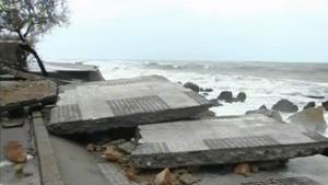Deu anys de la llevantada que va destrossar el litoral de l'Alt Empordà