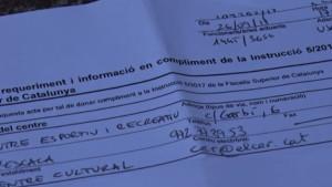 Els Mossos visiten col·legis electorals a l'Escala