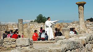 Estrena visita romana Sine Tavola