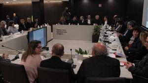 Reunió alcaldes afectats per la moratòria urbanística de la Costa Brava