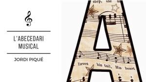 L'abecedari musical d'en Jordi Piqué - Discs de vinil