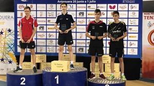 Triple podi del CER l'Escala als campionats d'Espanya