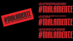 ERC s'adhereix a la campanya #malamente