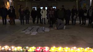 Un centenar de persones a l'acte del Dia Internacional Contra la Violència envers les Dones