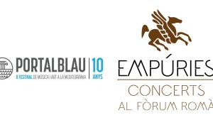 Els festivals Portalblau i Concerts al Fòrum Romà d'Empúries s'uneixen