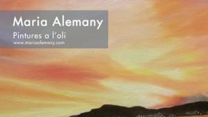 Maria Alemany exposa a l'ajuntament
