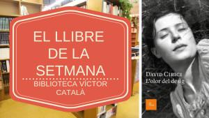 El llibre de la setmana - Olor del desig (David Cirici)