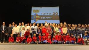 La Festa de l'Esport inclou una exhibició de gimnàstica rítmica i el foment de l'esport femení