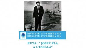 Neix la ruta 'Josep Pla a l'Escala'