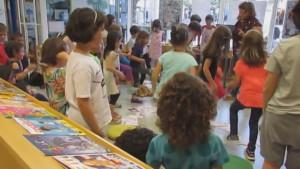 Festa per acabar el cicle d'activitats a la Biblioteca