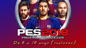 Torneig del joc Pro Evolution Soccer a la Sala Polivalent