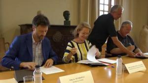 El Departament de Cultura i l'Ajuntament reforcen les actuacions culturals a Empúries