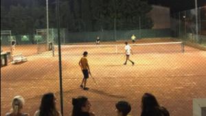 Torneig Nocturn de tenis amb bona participació