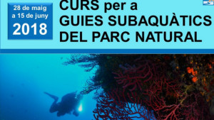 Curs de guies subaquàtics pel Parc Natural