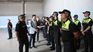 La Policia de l'Escala celebra la festa del seu patró
