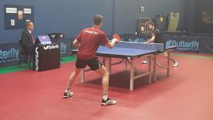 El segon equip del CER l'Escala de tennis taula es juga la permanència amb una triple ració