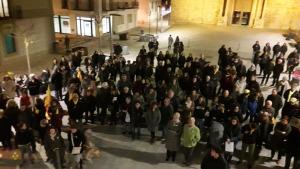 Manifestació de suport als presos polítics