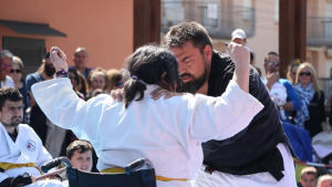 Una activitat a La Riba tanca el curs de Jujitsu