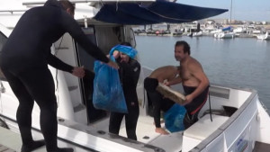 Tercera neteja submarina del fons marí