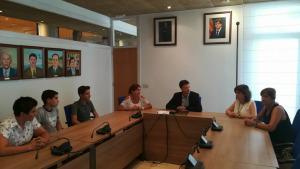 L'Ajuntament reconeix als tres estudiants amb millors notes a la selectivitat