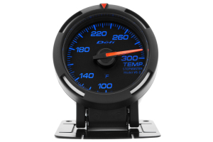 Defi Blue Racer Temperature Gauge Imperial 52mm 100-300F ( Part Number: DF06701)