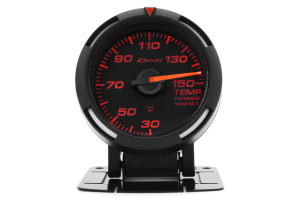 Defi Red Racer Temperature Gauge Metric 52mm 30-150C ( Part Number: DF06705)