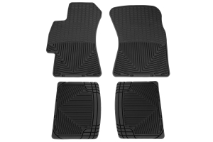 Weathertech Rubber Floor Mats Black Front and Rear ( Part Number: W52-W20)