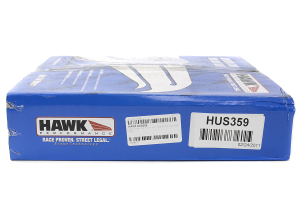 Hawk Quiet Slot Rear Rotor Single ( Part Number:HAW3 HUS359)