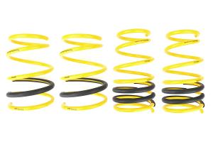 Racecomp Engineering Yellow Lowering Springs ( Part Number: GDF300)
