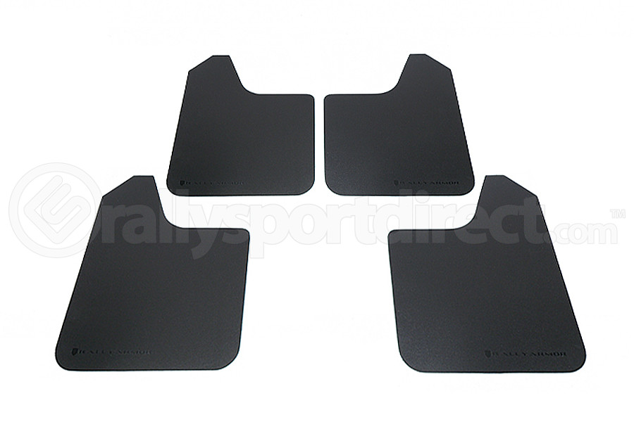 Rally Armor Basic Universal Mud Flaps ( Part Number:RAL MF12-BAS-BLK)