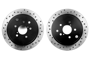 Stoptech Drilled Rear Rotor Pair  ( Part Number: 128.47029-GRP)